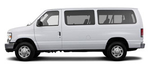 ford e350 12 person van
